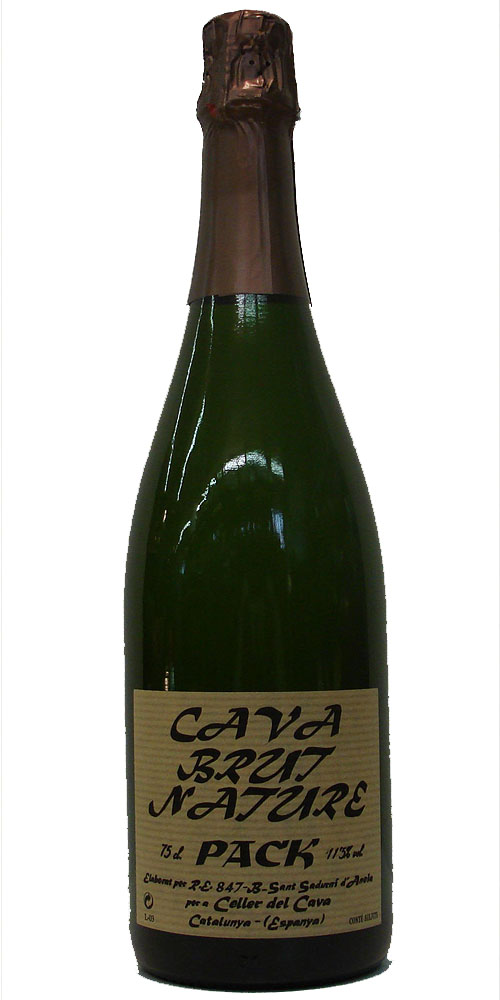 PACK BRUT NATURE 11,5% VOL 0,75L